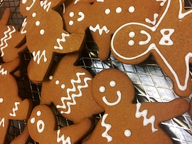 Petits biscuits de pain d'épices