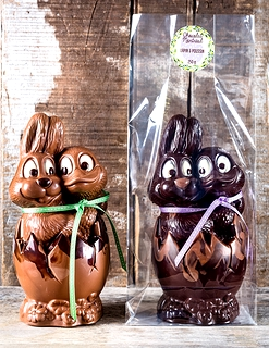 Buy online or at the factory fine easter chocolates made in montreal bunny chick in egg 250 negle Images