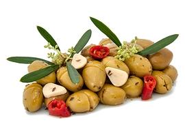 Olives Denoyautes Vertes Siciliennes 2Kg