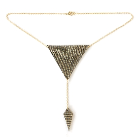 Collier court triangle - Bling Bling - Noizy