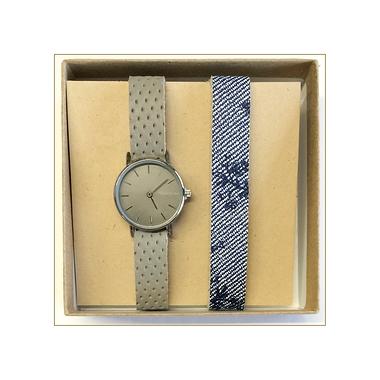 DUO de montres femmes grise ou bleue !