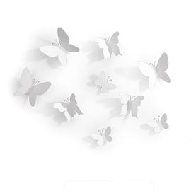 Décoration murale Umbra Mariposa Papillon Blanc