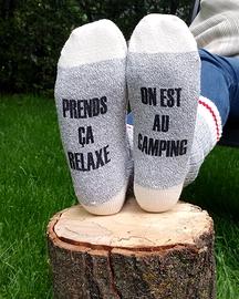 Bas, Camping, large