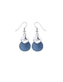 Boucles d'oreilles Caracol 2128 bleues