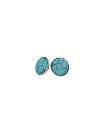 Boucles d'oreilles Caracol 2148 turquoise