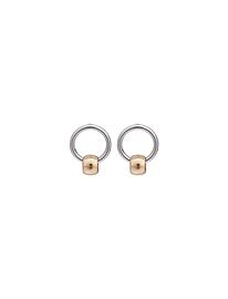Boucles d'oreilles Caracol 2162 or