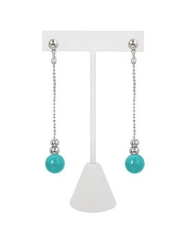Boucles d'oreilles Caracol 2171 turquoise