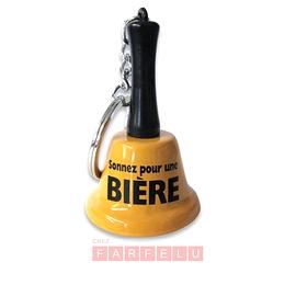 Clochette porte clés Sonnez Pour Une Bière