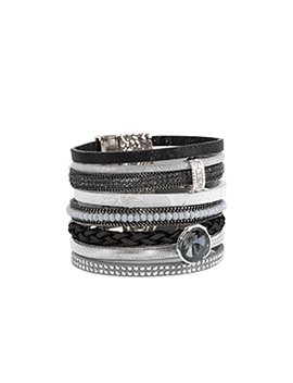 bracelet caracol 3016-blk