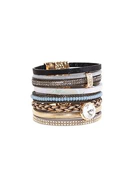 bracelet caracol 3016-gry