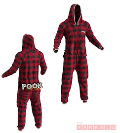 Pyjama à carreaux Pook Onesie