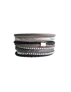 Bracelet caracol 3061-blk