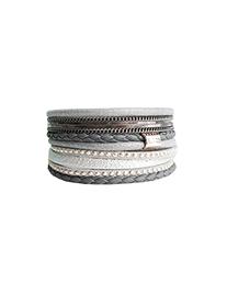 Bracelet caracol 3061-gry