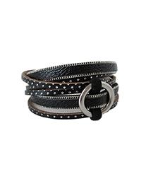 bracelet caracol 3092-blk