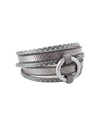 bracelet caracol 3092-gry