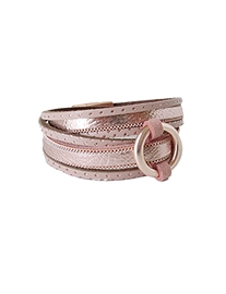 bracelet caracol 3092-pnk