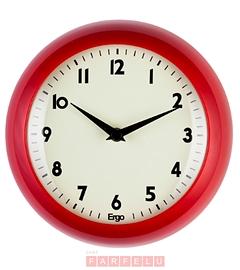 Horloge rouge pomme