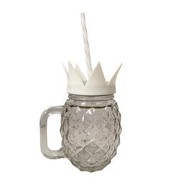 Tasse ananas blanche