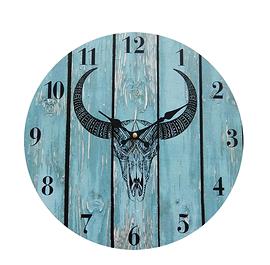 Horloge, Taureau bleu