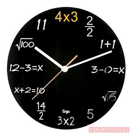 Horloge équation mathématique