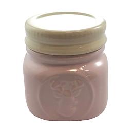 Petit pot en céramique Mason rose