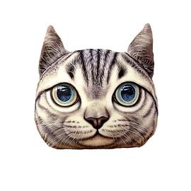 Coussin 3D Chat tigré