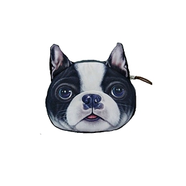 Porte-monnaie 3D Boston Terrier