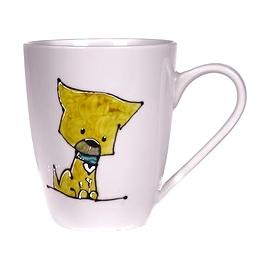 Collection Anou Tasse chien jaune