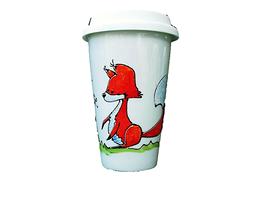 Collection Anou tasse de voyage renard