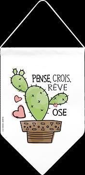 Fanion, Cactus