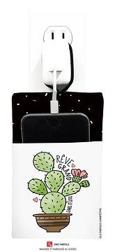 Pochette pour recharge cellulaire, Cactus, Rêve...