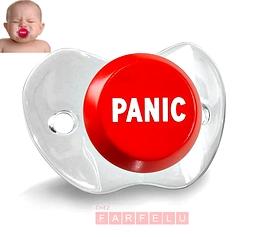 Suçe pour bébé Bouton De Panique