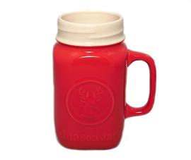 Tasse Mason en céramique rouge