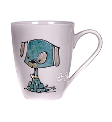Collection Anou Tasse chien bleu