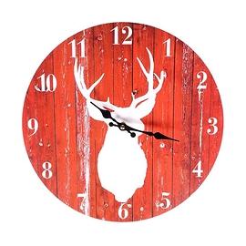 Horloge cerf rouge