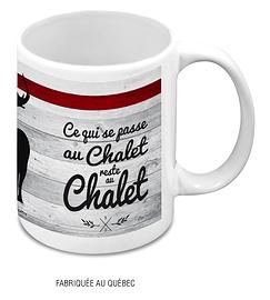Tasse BDL, Ce qui se passe au Chalet reste au Chalet