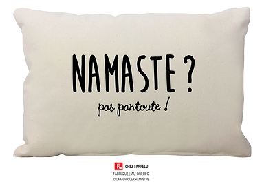 Coussin Namaste ? Collection Exclusive