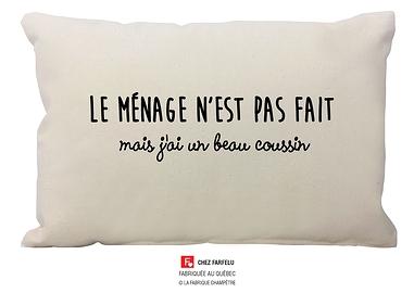 Coussin Le ménage Collection Exclusive
