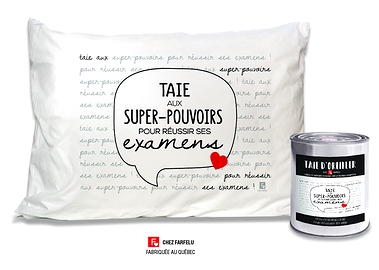 Taie Super-pouvoirs... Collection exclusive