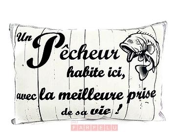 Coussin Le Pêcheur