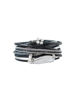 Bracelet Caracol 3015-blk noir