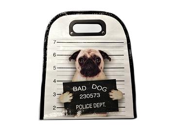 Sac à lunch chien, Pug