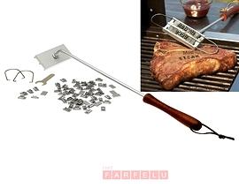Fer à marquer pour le barbecue