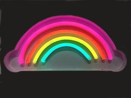 Lampe neon Arc-en-ciel