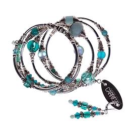 Bracelet Marie-France Carrière turquoise