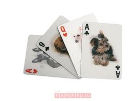 Jeux de cartes 3D chiens