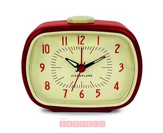 Horloge réveil Rétro rouge