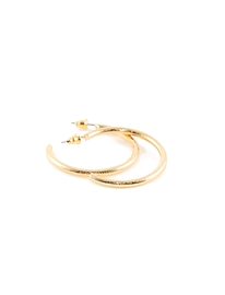 Boucles d'oreilles Caracol 2062-gld or