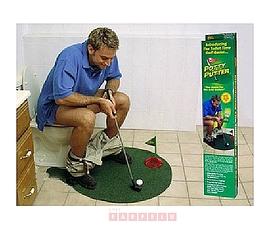 Jeu de golf pour salle de bain .