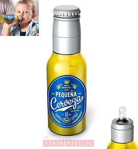 Biberon Chill Baby Pequeña Cerveza